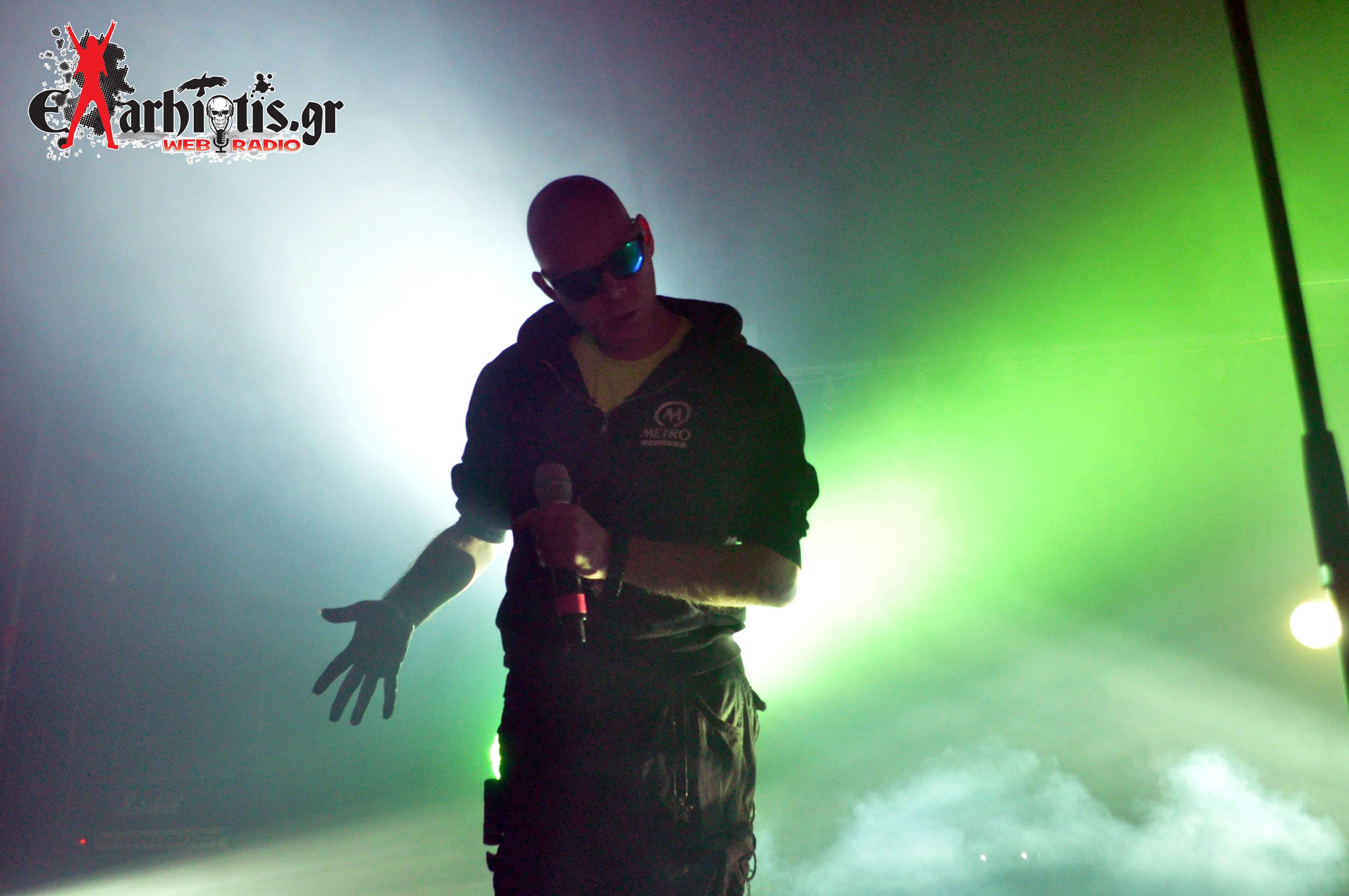 EXtra Wild: The Sisters Of Mercy / Opening act: Mani Deum (Ανταπόκριση: Gazi Music Hall / 06.12.2015)