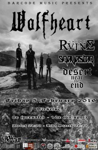 Wolfheart Athens Final Poster