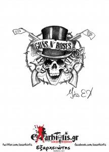 Miss EX_Βέρα Ράπτη_exarhiotis.Guns 'n' Roses