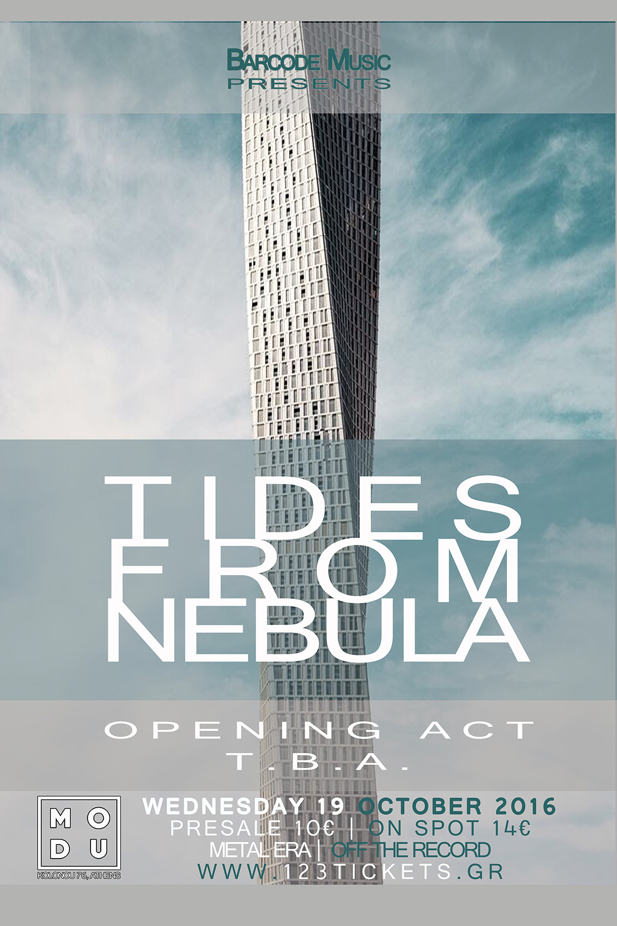 19.10.2016 – Tides from Nebula