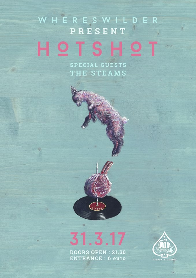 Whereswilder (Hotshot LP Presentation) / Special Guests: The Steams