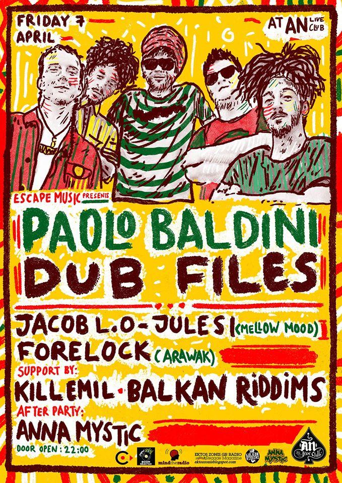Dubfiles, Paolo Baldini, Jacop L.O – Jules I (Mellow Mood), Forelock (Arawak)