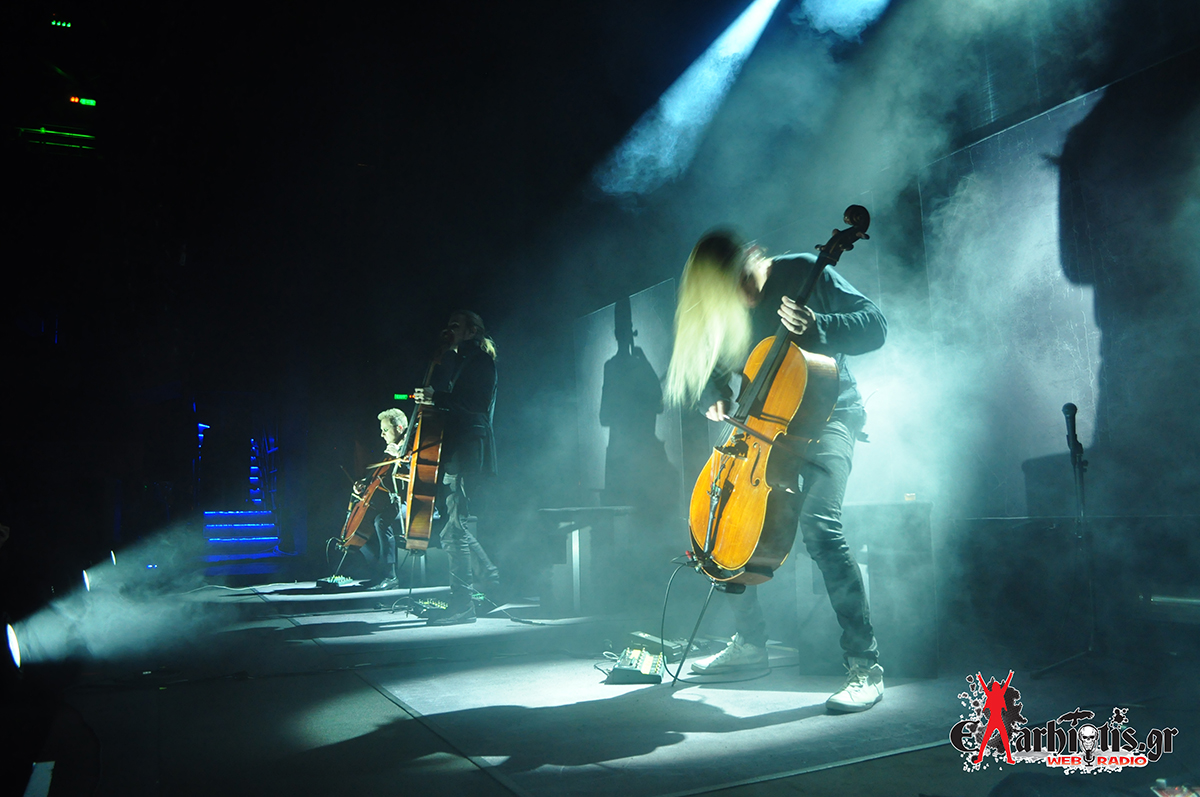 "Ανταπόκριση: Apocalyptica ""Plays Metallica By Four Cellos"" @ Gazi Music Hall (07.04.2017)"