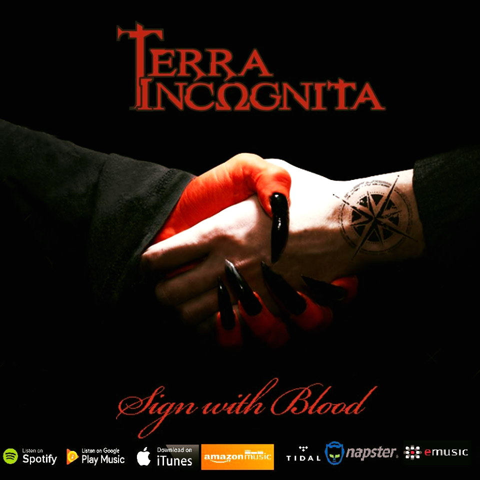 "Terra Incognita – Nέο ΕΡ: ""Sign with Blood"""