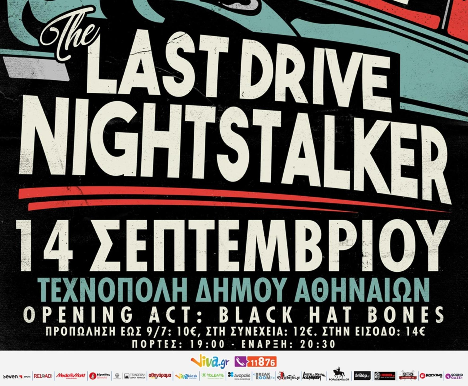 14.09.2018 – The Last Drive, Nightstalker / Opening act: Black Hat Bones